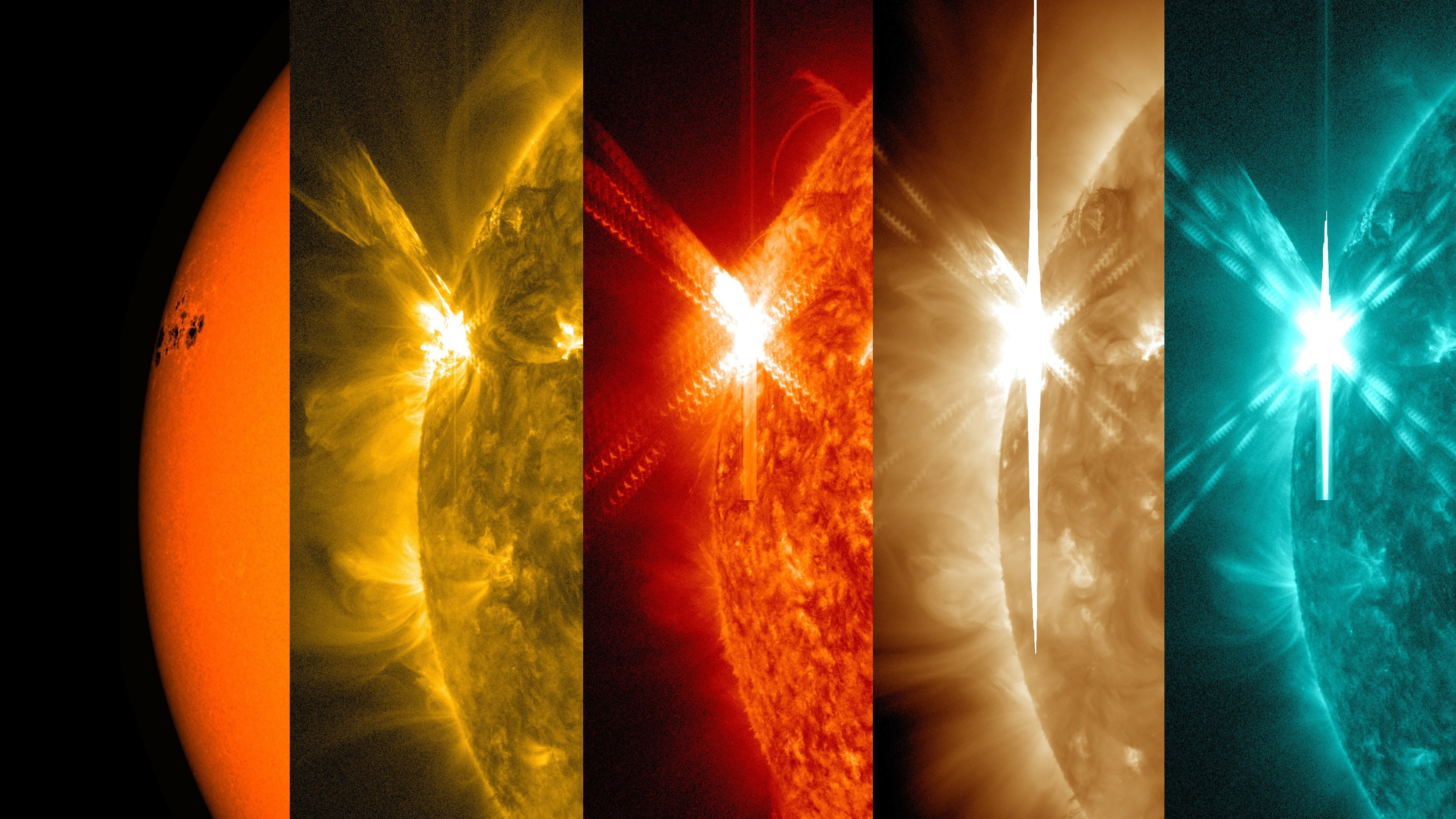 Capturas da SDO da NASA